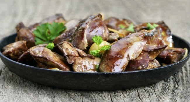 куриная печень-полезные свойства-состав-калорийность