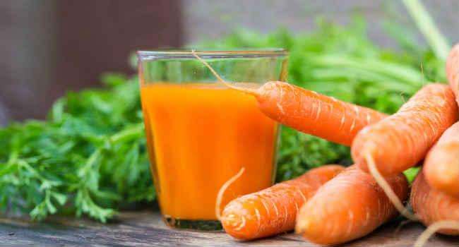 морковный сок-как пить-польза