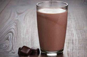 шоколадное молоко-состав-польза