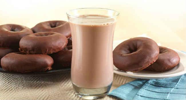 шоколадное молоко-польза-вред
