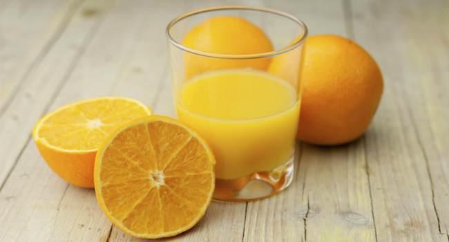 апельсиновый сок-как пить