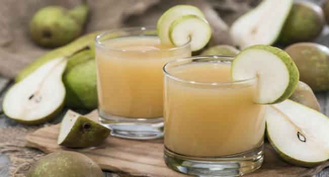грушевый сок-польза-как приготовить