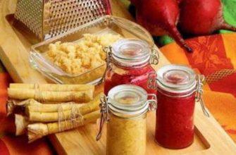 как приготовить хрен-приправа-рецепты