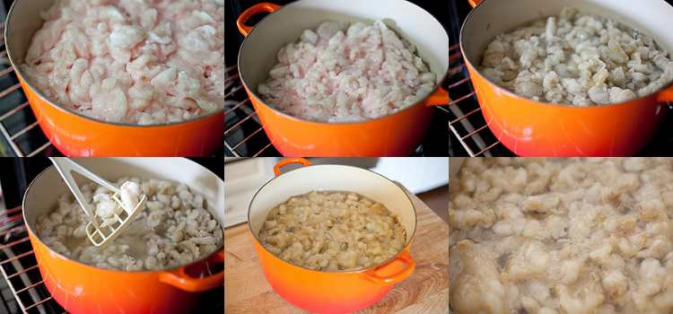 как вытопить свиной жир-нутряной жир