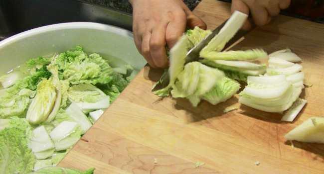 пекинская капуста-что приготовить