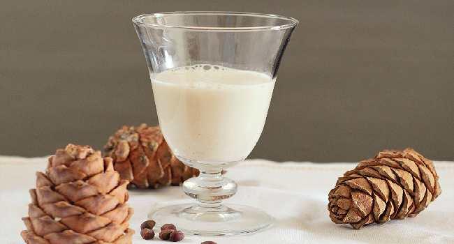 кедровое молочко-свойства
