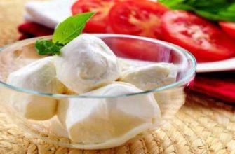 сыр моцарелла-чем полезен