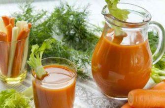как приготовить морковный сок-рецепты сока