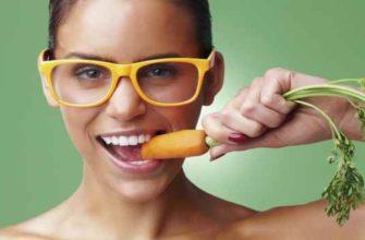 морковь для зрения-улучшает зрение
