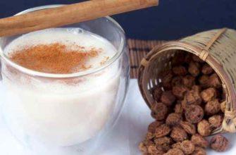 молоко из чуфы-польза-рецепты