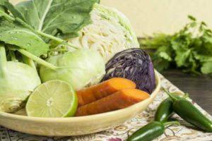салат с кольраби-как приготовить-рецепты