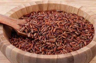 красный рис-польза и вред