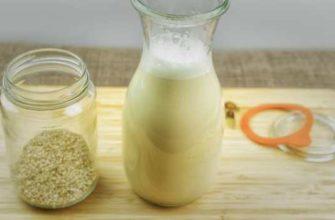 кунжутное молоко-польза и вред-как приготовить
