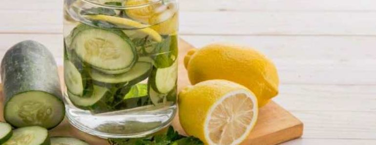 огуречная вода для похудения-чем полезна как приготовить