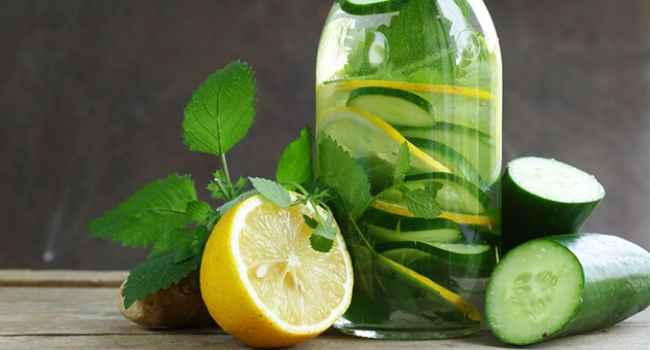огуречная вода-чем полезнаи как приготовить