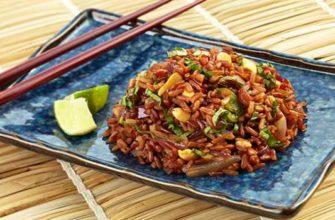 как приготовить красный рис-как варить красный рис