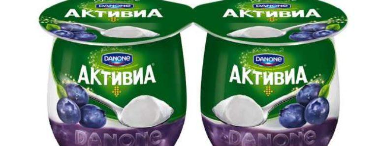 йогурт активиа-польза и вред состав калорийность
