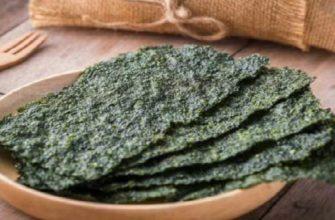 водоросли нори-польза и вред