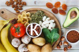 калий-в каких продуктах содержится