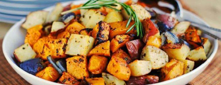 сколько запекать овощи в духовке-рекомендации таблицы