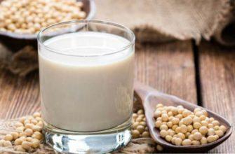 соевое молоко-польза и вред