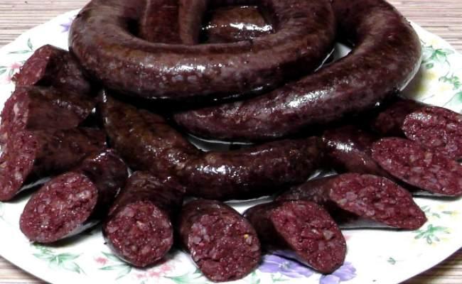 как приготовить кровяную колбасу-рецепты рекомендации
