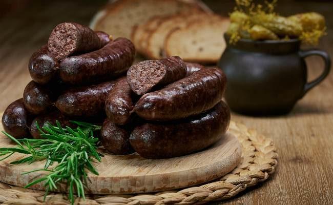 кровяная колбаса-польза и вред